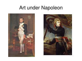Art under Napoleon