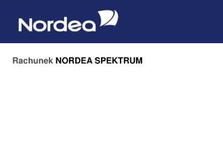 Rachunek  NORDEA SPEKTRUM