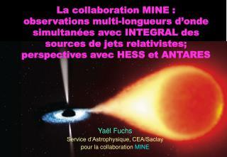 Yaël Fuchs Service d'Astrophysique, CEA/Saclay pour la collaboration  MINE