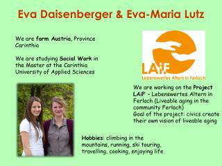 Eva Daisenberger & Eva-Maria Lutz