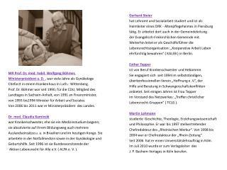 MR Prof. Dr. med. habil. Wolfgang Böhmer,