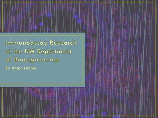 Immunoassay Research at the UW Department of Bioengineering