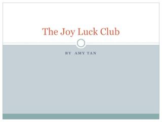 an analysis of an meis relationship with her mother in the joy luck club by amy tan Transcript of analysis of two kinds by amy tan there are two main characters in this story jing-mei and her mother her mother moves from china to america after having a devastating loss of her first husband, mother and father, home, and two twin baby girls.