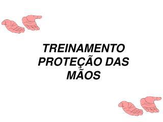 TREINAMENTO PROTEÇÃO DAS MÃOS