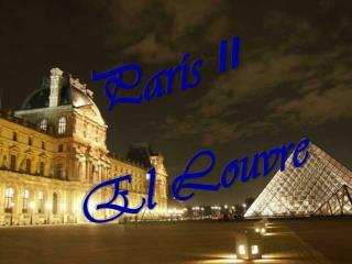 Par�s  II El Louvre