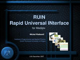 RUIN  Rapid Universal INterface
