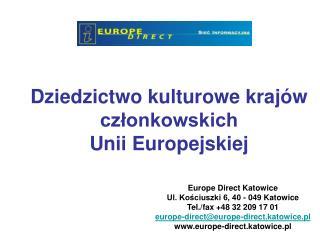 Dziedzictwo kulturowe krajów członkowskich Unii Europejskiej