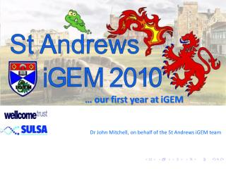 � our first year at  iGEM