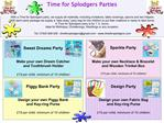 Sparkle Party   Make your own Necklace  Bracelet and Wooden Trinket Box   15 per child, minimum of 10 children