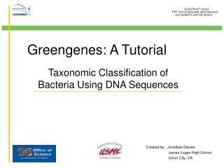 Greengenes: A Tutorial