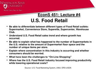 U.S. Food Retail