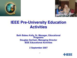 IEEE Pre-University Education Activities