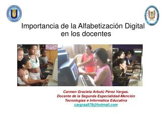 Carmen Graciela Arbulú Pérez Vargas.