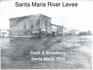 Santa Maria River Levee
