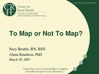 To Map or Not To Map?