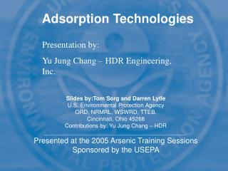 Adsorption Technologies