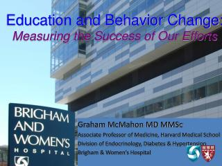Education and Behavior Change: Measuring the Success of Our Efforts