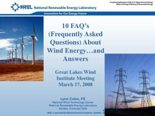 10 FAQ's (Frequently Asked Questions) About Wind Energy…and Answers