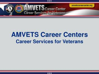 Career Services for Veterans