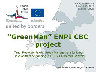 """GreenMan"" ENPI CBC project"