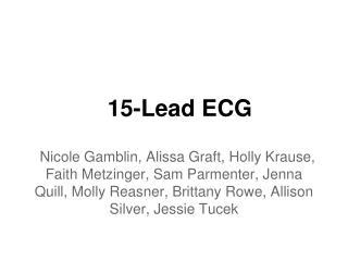 15-Lead ECG