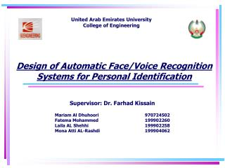 Design of Automatic Face