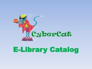 E-Library Catalog