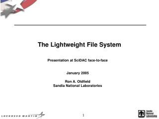 The Lightweight File System