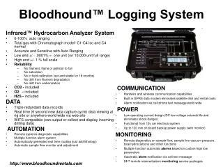 Bloodhound  Logging System