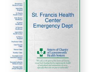 St. Francis Health Center Emergency Dept