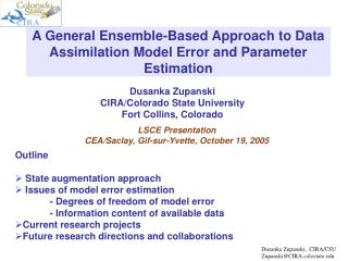 A General Ensemble-Based Approach to Data Assimilation Model Error and Parameter Estimation