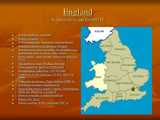 England by Agnieszka L. and Karolina M.