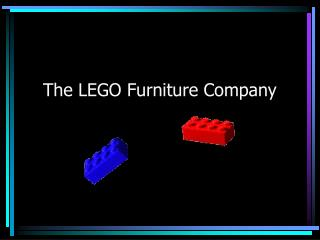 The LEGO Furniture Company