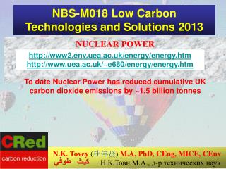 NBS-M018 Low Carbon Technologies and Solutions 2013