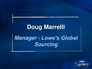 Doug Marrelli