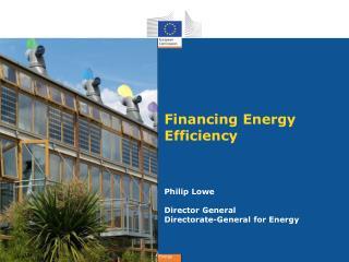 Financing Energy Efficiency