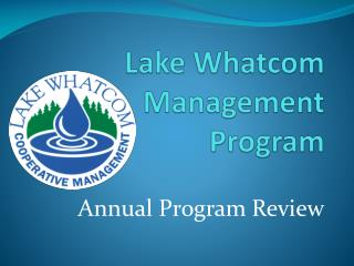 Lake Whatcom Management Program