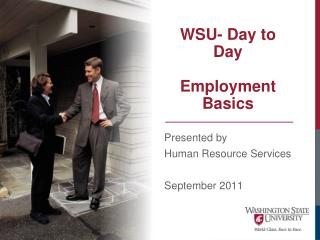 WSU- Day to Day Employment Basics