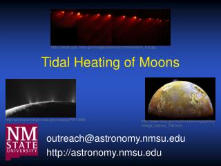 Tidal Heating of Moons