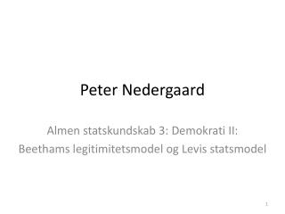 Peter Nedergaard