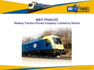 M V-TRAKCI  Railway Traction Private Company Limited by Shares