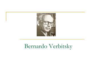Bernardo Verbitsky