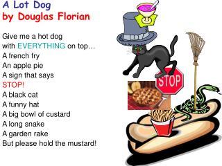 A Lot Dog by Douglas Florian