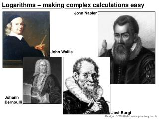 Logarithms   making complex calculations easy