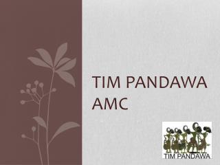 TIM PANDAWA AMC