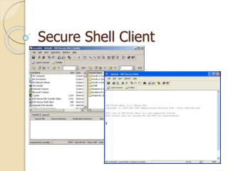 Secure Shell Client