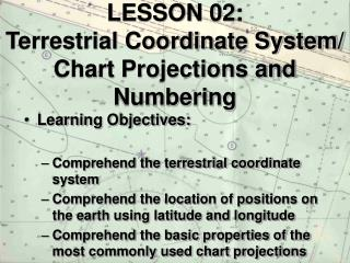 LESSON 02: Terrestrial Coordinate System