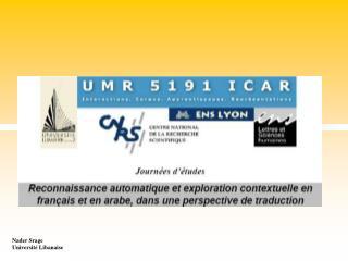 Nader Srage Université Libanaise