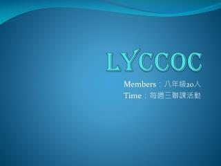 LYCCOC