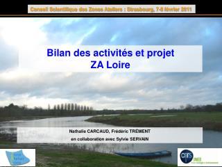 Conseil Scientifique des Zones Ateliers : Strasbourg, 7-8 f vrier 2011
